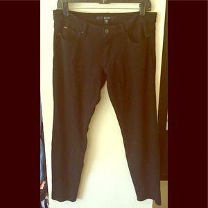 Joes Jeans black Skinny leggings 30